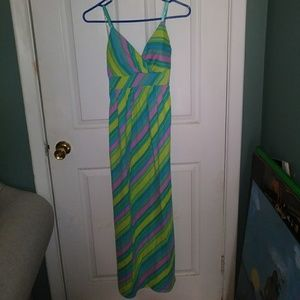 3 for $20 Derek ❤Candy Striped Maxi Dress